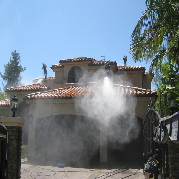 Pressure Washing House