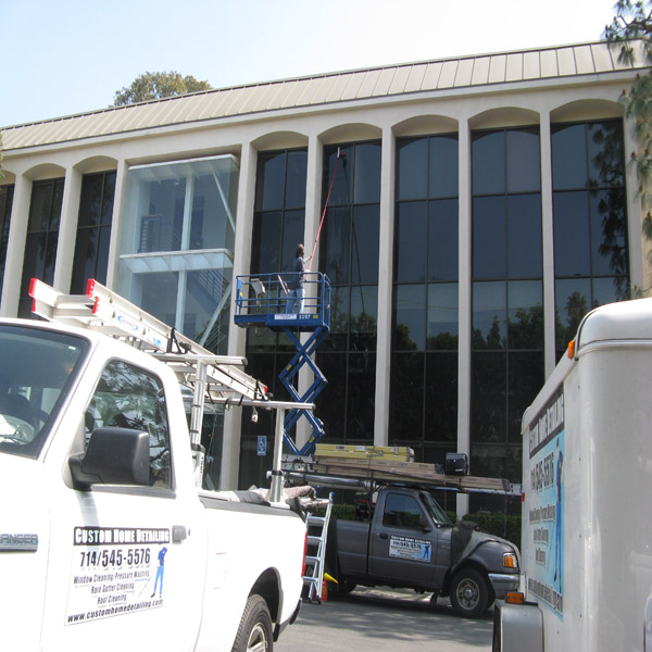 Window Cleaning Yorba Linda Commericial